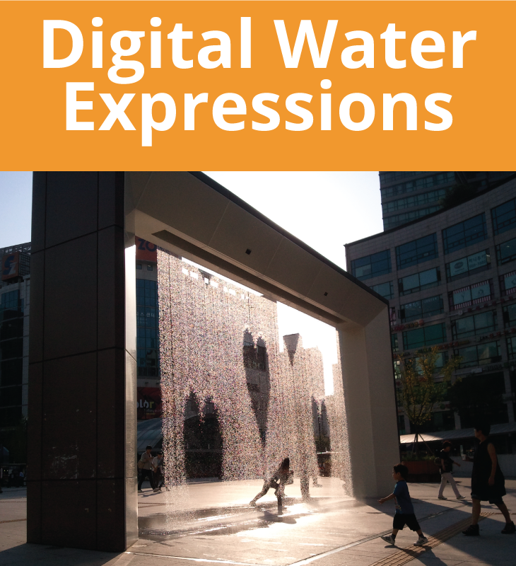digital water expressions