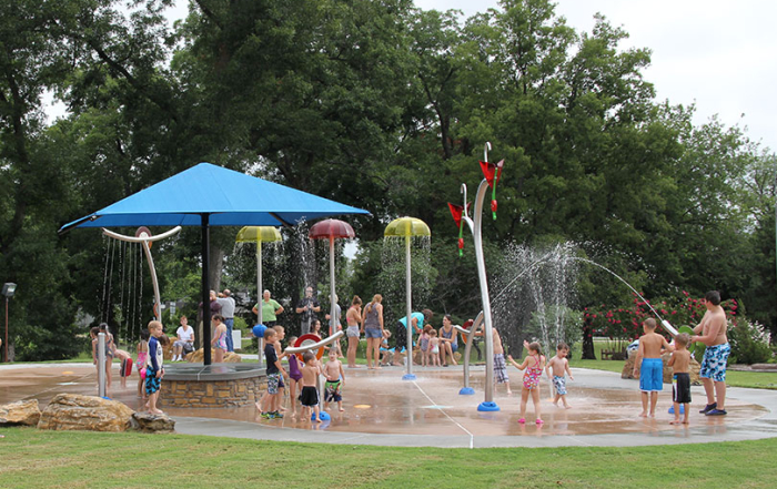 will rogers splashpad