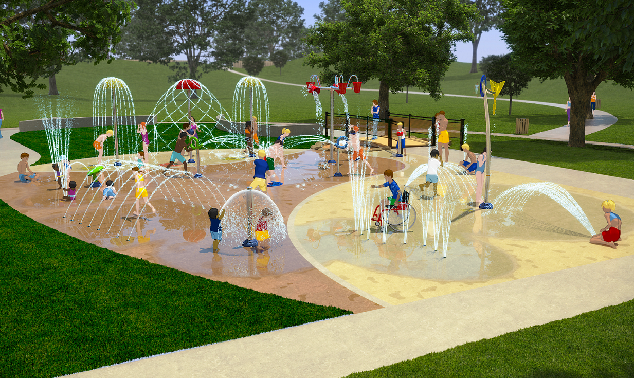 New Splashpads Coming Soon To Sand Springs Power Play