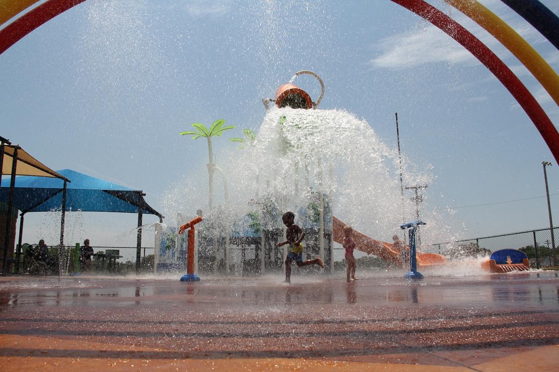 Municipal Park Splashpad